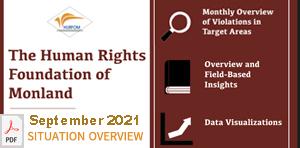 HURFOM Monthly Overview: September 2021